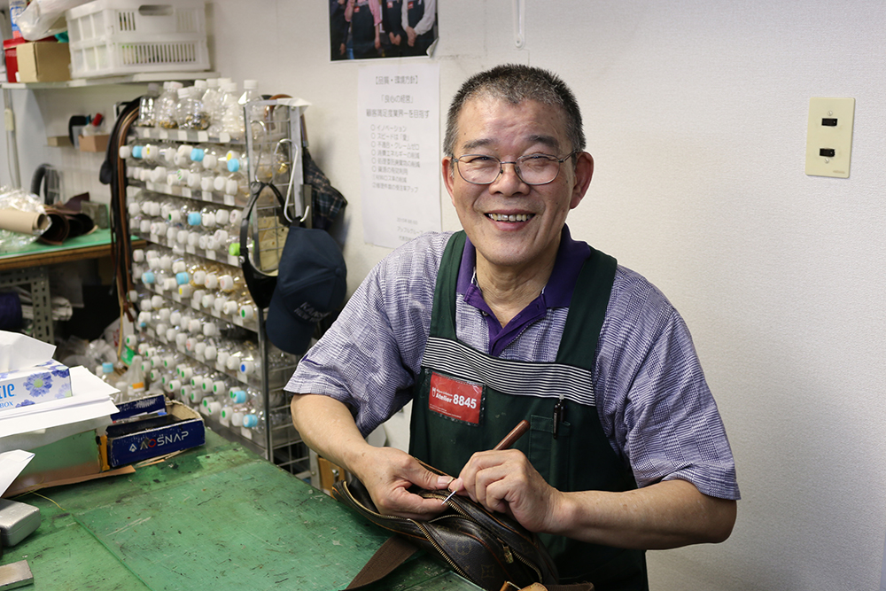 職人 竹田 勇さん